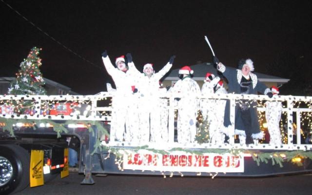 2005 Wallington Christmas Parade Lodi Volunteer Fire