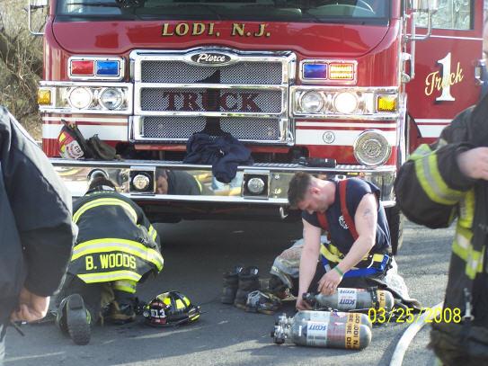 Bart Giaconia Lodi Volunteer Fire Department