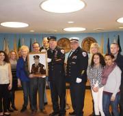 Ex-Chief Ebe Bruining, Chief Keith Bruining, & Family